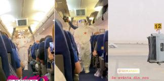 stewardese tarom pandemie