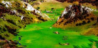 """Un colt de rai in Romania. Cum arata locul misterios din munti, numit """"Palma lui Dumnezeu"""" FOTO: Remus Suciu"""
