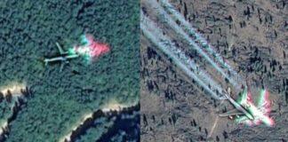 Avioanele misterioase din Apuseni. Aparitiile ciudate de pe Google Maps