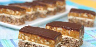 Reteta prajitura Snickers. Un desert delicios, preluat de la americani