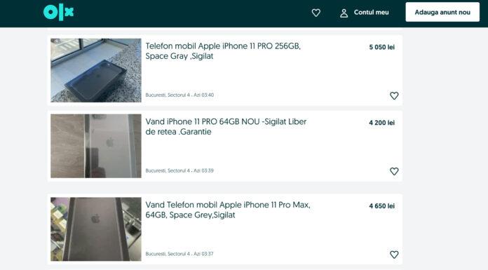 teapa olx romania telefon laptop masina mesaj 2020