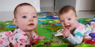Caz socant. S-au nascut din aceeasi mama si in aceeasi zi, dar nu sunt gemene. Asa ceva este o raritate