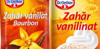 Diferenta dintre zahar vanilat si zahar vanilinat. Cum se diferentiaza, de fapt?