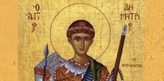 Calendar ortodox luni 26 octombrie 2020. Sfantul Mucenic Dimitrie, Izvoratorul de Mir