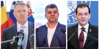 Cei mai importanti oameni din stat. Ce averi au Klaus Iohannis, Ludovic Orban si Marcel Ciolacu