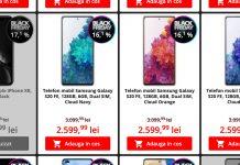 catalog telefoane black friday romania flanco iphone samsung huawei oppo 2020