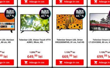 televizoare smart android 4k black friday 2020 oferta televizoare black friday flanco