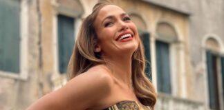 Jennifer Lopez, de nerecunoscut! Cum arata cantareata cu parul roz si intr-un costum de piele