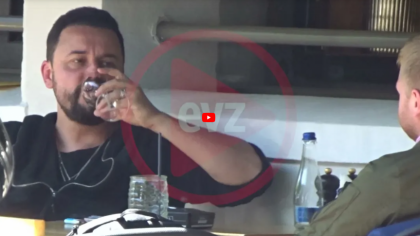 EXCLUSIV. Imaginile spun totul: Cătălin Măruță fumează. A fost surprins pe video
