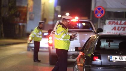 Pericol iminent pe străzile Capitalei! Zeci de șoferi prinși beți, drogați și fără permis la volan