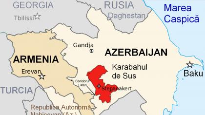Nagorno-Karabah. Armenia cedează 120 de orașe și sate către Azerbaidjan