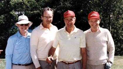 A murit J. Bush, ultimul dintre frații familiei! Peste câteva zile împlinea 90 de ani