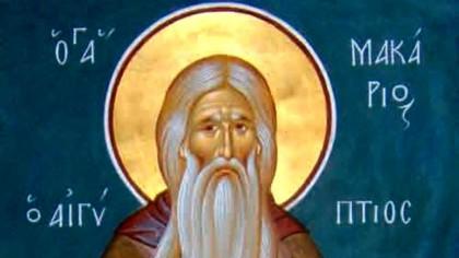 Sfântul Macarie cel Mare – Calendar creștin ortodox: 19 ianuarie