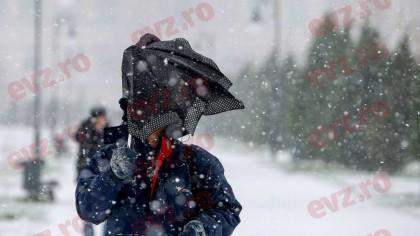 Prognoza meteo 6-7 martie 2021. Cod galben de ninsori și viscol