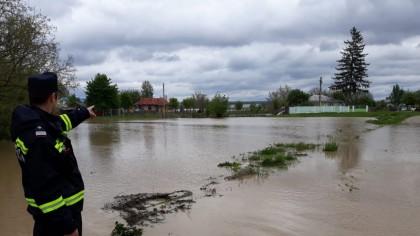 Cod portocaliu de inundații pe râul Arieș