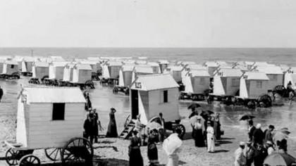 Cum arătau plajele de la Marea Neagră acum 120 de ani?
