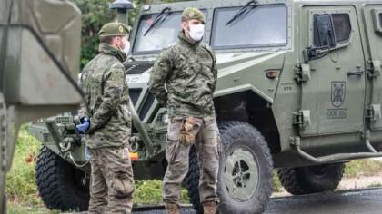 Armata a ieșit în stradă. Numărul infectaților a crescut alarmant