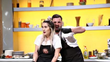 """Cătălin Rizea, concurent la """"Chefi la cuțite"""". Care a fost reacția Addei: """"Pot da vina pe tine când mă îngraș"""""""