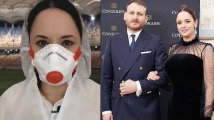 Ce făcea Adrian Brâncoveanu, iubitul Andreei Marin, când vedeta strângea ajutoare, la începutul pandemiei