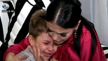 David, fiul Andreei Mantea, în lacrimi la TV. Cum a reacționat vedeta Kanal D