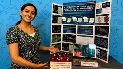 Posibil tratament anti coronavirus, inventat de o fată de 14 ani. Ce a descoperit eleva