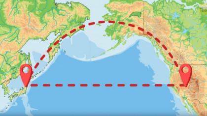 De ce piloții evită să zboare peste Oceanul Pacific și îl OCOLESC?
