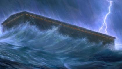 Descoperire BOMBĂ: potopul a avut loc la Marea Neagră! Ce s-a întâmplat cu arca lui NOE și în România