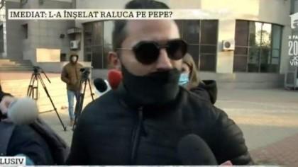 BOMBĂ! Pepe, CRIZĂ de nervi la tribunal. Ce a transmis după ce s-a văzut cu Raluca Pastramă