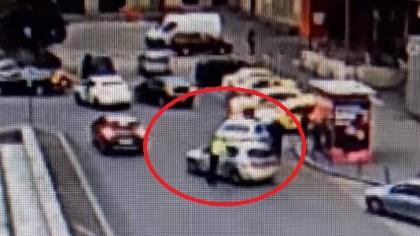 """Cine este șoferul care a lovit cu mașina un polițist.Sindicatul polițiștilor:""""este beizadeaua unei persoane din..."""