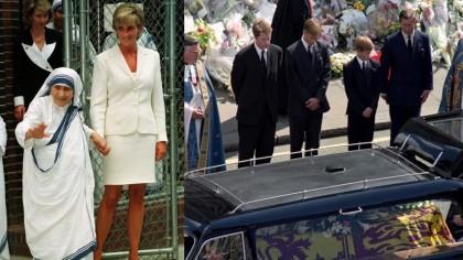 Fapte interesante despre Printesa Diana. A fost ingropata cu un rozariu daruit de Maica Tereza