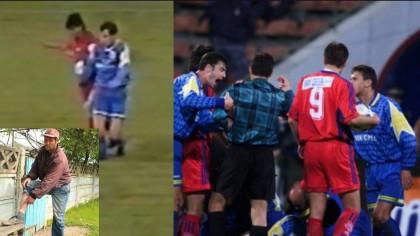 1999: Marius Lacatus l-a scos din fotbal pe Vasile Ardeleanu. Sfarsitul carierei pentru fundas