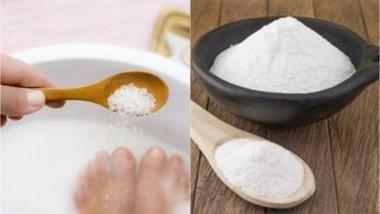 Un bărbat a pus bicarbonat de sodiu într-un lighean cu apă. Ce a observat în doar 10 minute