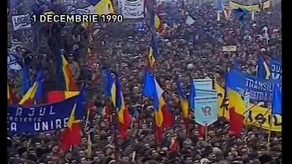1990 – Anul 0 pentru Romania. Cum a fost sarbatorita ziua nationala