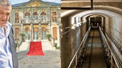 Tunelul secret de sub Palatul lui Gigi Becali. E incredibil unde duce. Era folosit şi de Carol al II-lea