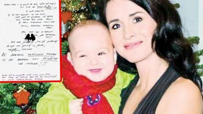 Biletul de adio lasat de Madalina Manole. Cutremurator ce a cerut pentru copilul ei, inainte sa moara