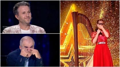 Golden Buzz la Românii au talent! Cum i-a vrăjit concurenta pe jurați ca să o trimită în finală