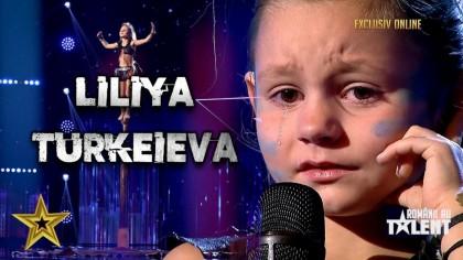 Cine e Liliya Turkeieva de la Românii au talent. E unică în lume, talentul ei nu a fost egalat VIDEO