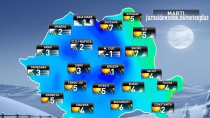 Meteo. Temperaturi IREALE pentru luna martie!!! Când revin ninsorile în România, de fapt