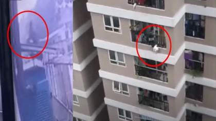 O fetiță a căzut de la etajul 12. Ce s-a întâmplat când a ajuns jos a fost un miracol divin VIDEO