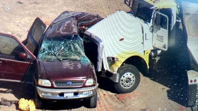 Accident horror! Cel putin 15 morti intr-o masina cu 8 locuri! Video