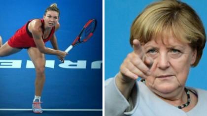 Angela Merkel s-a interesat de Simona Halep. Întrebarea surprinzătoare pe care a adresat-o cancelarul Germaniei în Parlamentul European