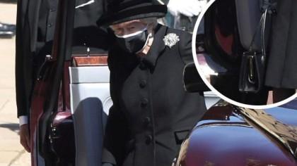 Ce avea Regina Elisabeta a II-a in geanta, la inmormantarea Printului Philip. Secretul a iesit la iveala