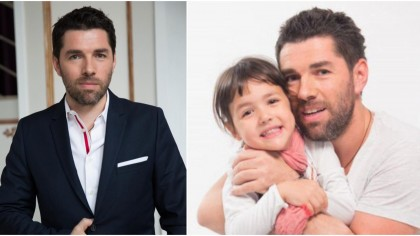 Drama lui Alex Dima de la ProTV. Cum si-a crescut fetita de 1 an, dupa ce sotia i-a murit de cancer