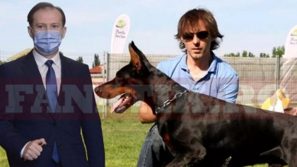 Imagini în premieră cu Florin Cîţu şi câinele său, Lomu, de 11 ani cel mai bun prieten al premierului! Galerie foto