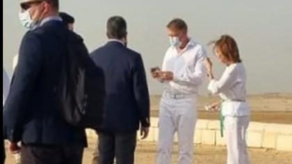 FOTO Gafa lui Carmen Iohannis în timpul vizitei din Egipt! Toți au pus-o la zid
