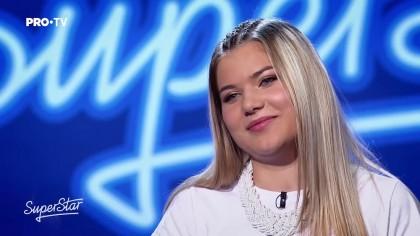 Cine este Rebeka Daniel, fata de 17 ani care i-a lăsat cu gura căscată pe jurații de la SuperStar (Pro TV)